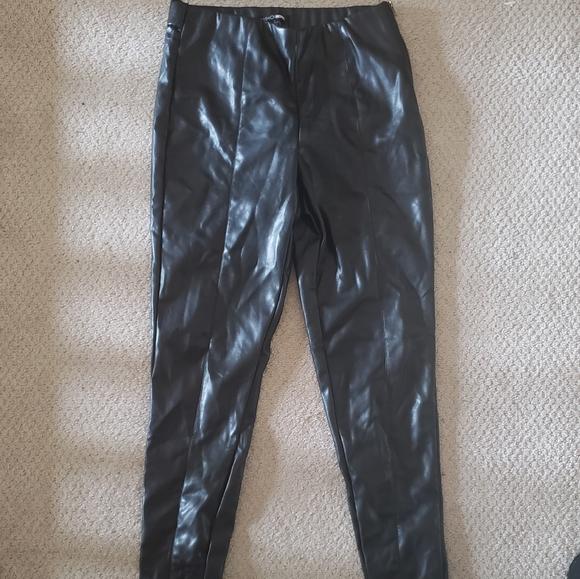 Fashion Nova Pants - Leather pants